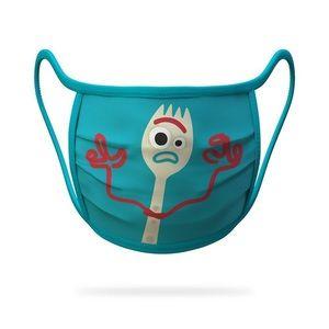 NWT DISNEY Forky Toy Story Face Mask Youth Medium